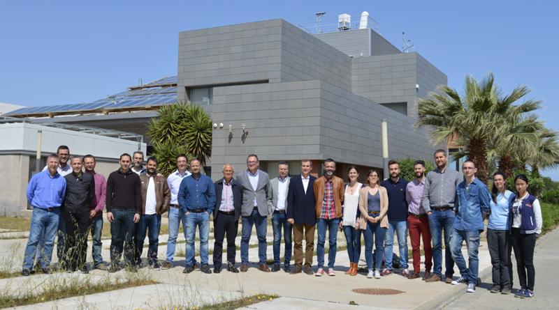 Investigadores de la Universidad de Almería.