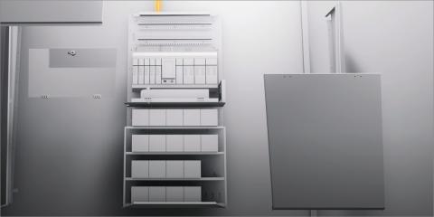 eBox, sistema de alimentación de emergencia central de Zumtobel