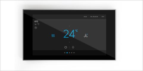 El nuevo panel táctil de ABB unifica el control de los dispositivos de las habitaciones inteligentes