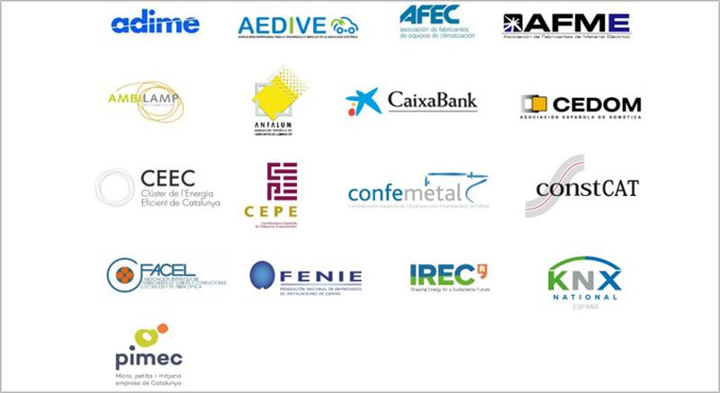 Asociaciones participantes.