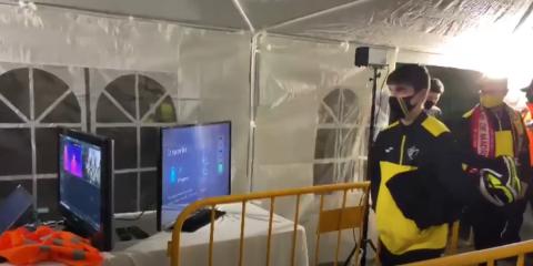 Caso de éxito By Demes: dispositivos termográficos en el campo de fútbol Es Moleter en Mallorca