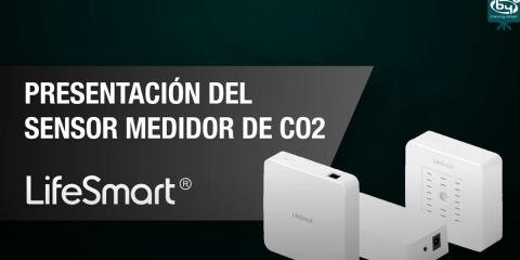 Presentación del kit de sensor y medidor CO2 de LifeSmart/By Demes