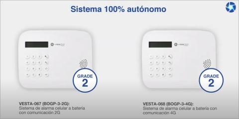 Sistema de alarma de intrusión a pilas de Vesta by Climax/By Demes