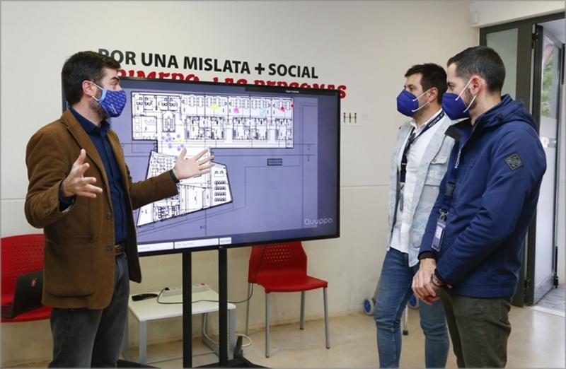 Centro ocupacional presentación solución.
