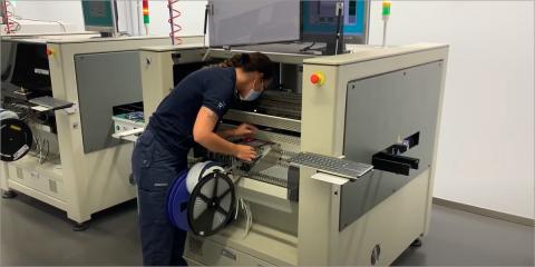 La fábrica de Robot operativa a pleno rendimiento