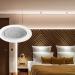 Detector de movimiento de Jung para las instalaciones KNX del sector hotelero