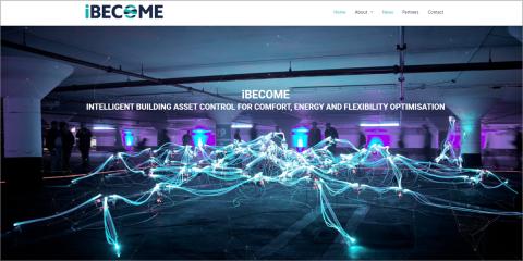 El proyecto iBECOME desarrollará un BMS virtual para optimizar el rendimiento energético y el confort