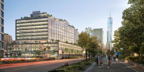 El edificio St. John's Terminal en Nueva York tendrá ventanas inteligentes con Inteligencia Artificial