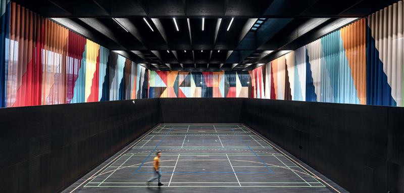 Sala deportiva de Kepler Hall.