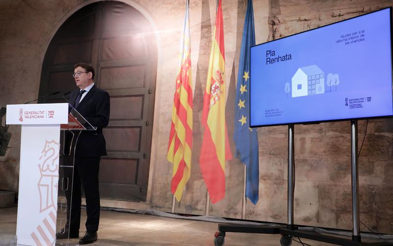 Ximo Puig, presidente de la Generalitat Valenciana.