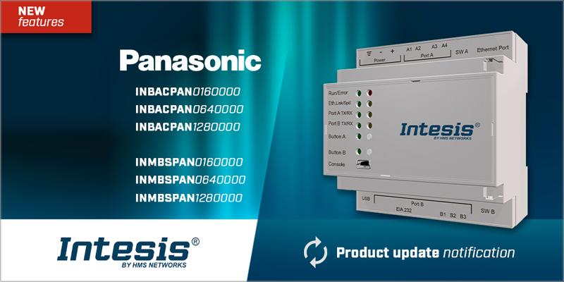 AC interface Panasonic de Intesis.