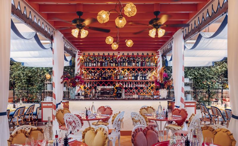 Restaurante Bel Mondo.