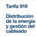 Tarifa 919: Distribución de la energía y gestión del cableado de Hager