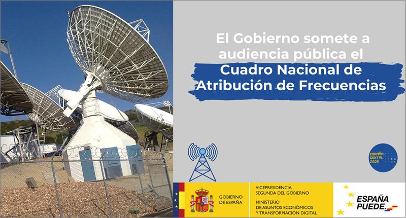 Audiencia pública Cuadro Nacional de Atribución de Frecuencias.