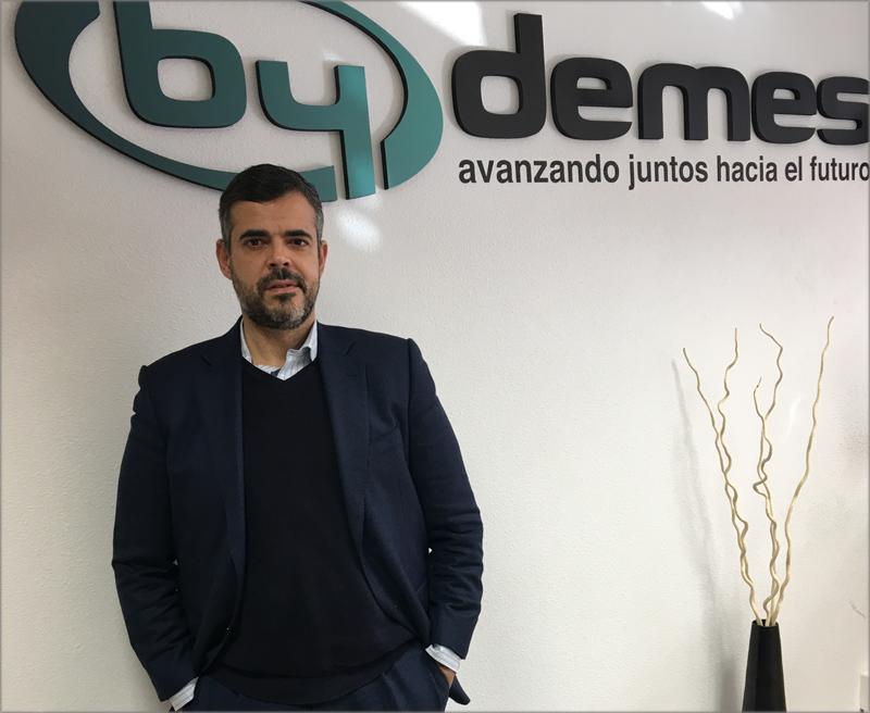 Óscar Rubí, director del departamento de Ingeniería y Proyectos de By Demes.