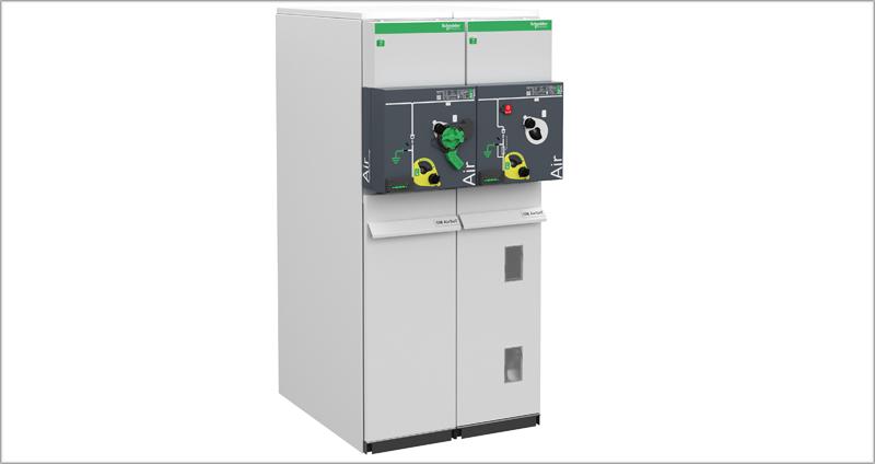 Celdas sostenibles y digitales SMAirSeT de Schneider Electric.
