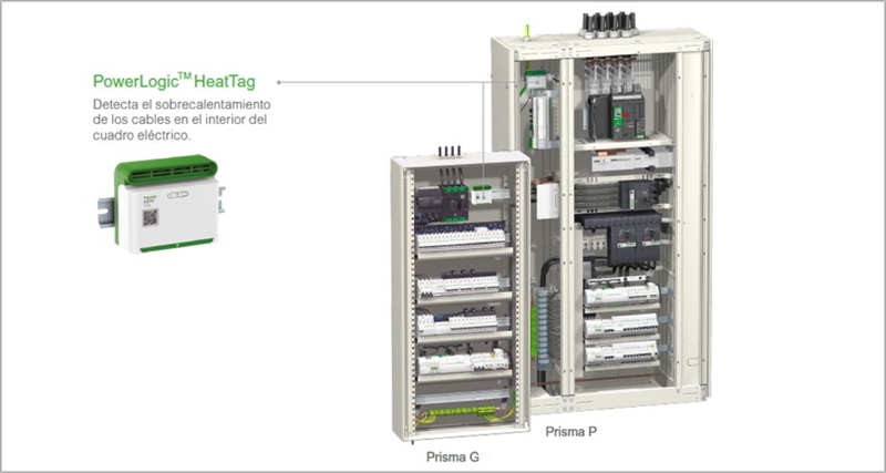 Sensor HeatTag de Schneider Electric.
