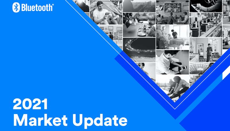 Estudio 'Actualización de mercado 2021' de Bluetooth SIG.