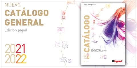Las novedades tecnológicas de Legrand se muestran en el Catálogo General 2021-2022