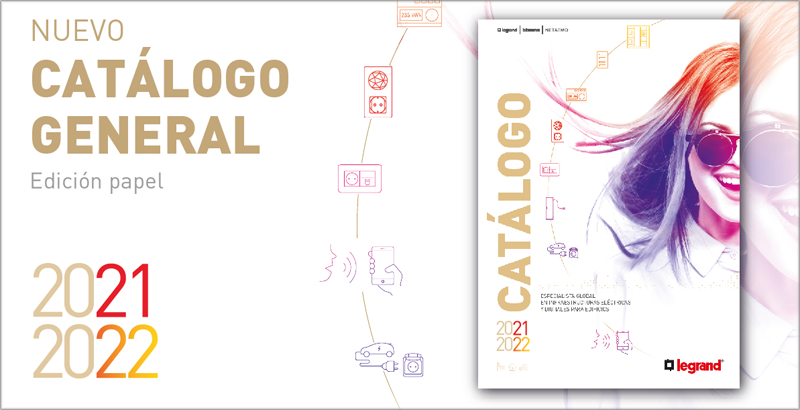 Catálogo General 2021-2022 de Legrand.