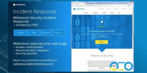 XProtect de Milestone: la solución segura y confiable