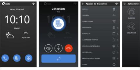 Actualización del firmware de Qvadis One para incorporar todas las funcionalidades de la aplicación