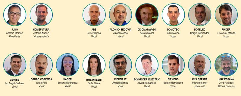 Comité de Gobierno de la Asociación KNX España.