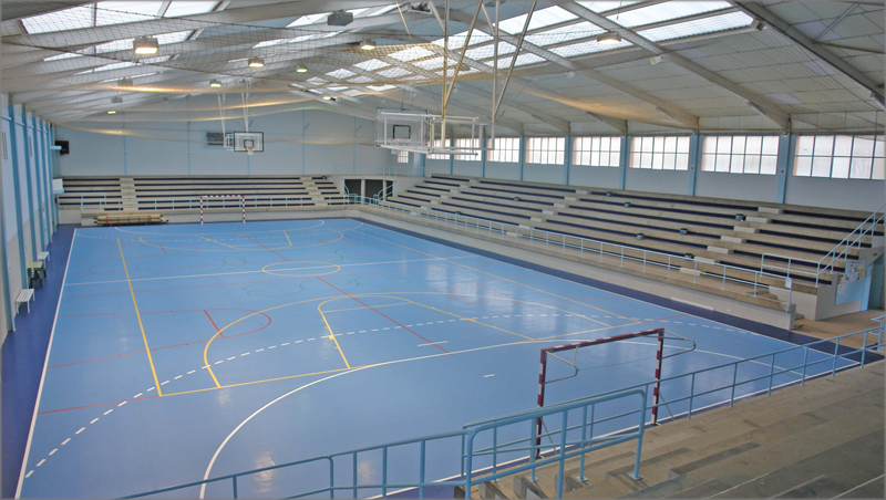 Polideportivo municipal.