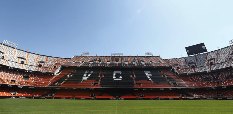 Estadio de Mestalla.