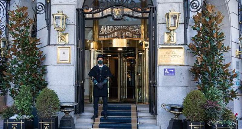 Hotel Wellington en Madrid.