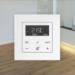 El controlador de temperatura ambiente de Jung facilita la gestión de la calefacción por suelo radiante
