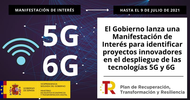 Manifestación de interés 5G.