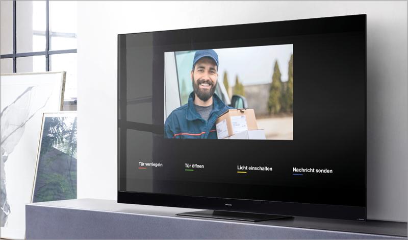 Videoportero IP DoorBird en Panasonic TV.
