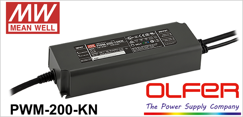 Serie PWM-200KN, Electrónica OLFER.