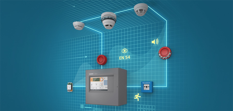 Sistema contraincendio Cerberus FIT de Siemens.