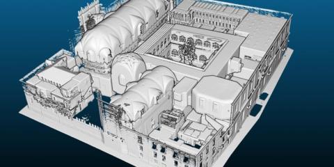 La Universidad de Salamanca dispone de un gemelo digital para la conservación de sus edificios