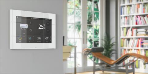 Z70, la nueva pantalla táctil de Zennio para la gestión centralizada de los dispositivos inteligentes