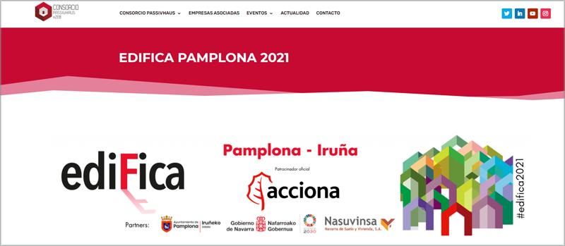 Feria EDIFICA Pamplona 2021.