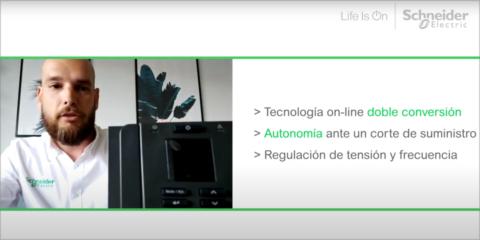 SAI monofásico online doble conversión Easy UPS-SRVS de Schneider Electric