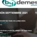 By Demes impartirá tres nuevos webinars sobre un software, panel y central de alarma