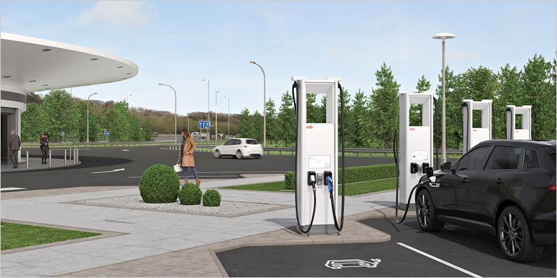 cargadores vehículos eléctricos ABB