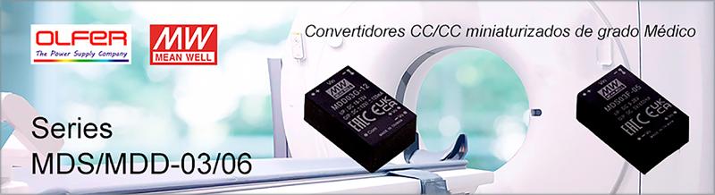 Electrónica OLFER convertidores CC/CC.