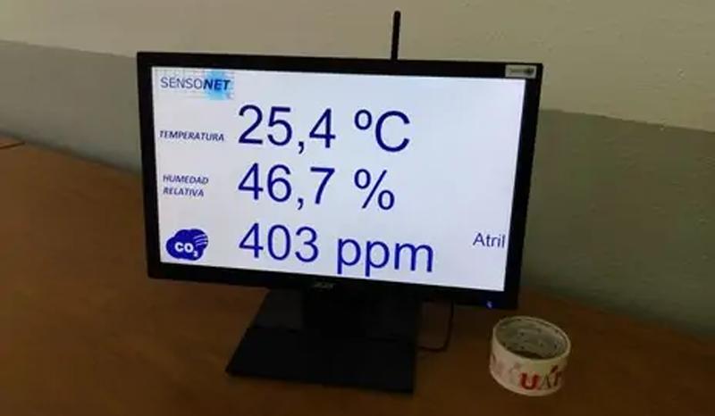 SENSONET medidores CO2..