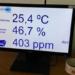 Medidores de CO2 de SENSONET en la escuela de verano de la UAM para controlar la calidad del aire