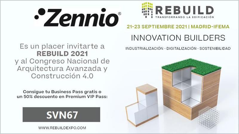 Rebuild 2021 participación Zennio.
