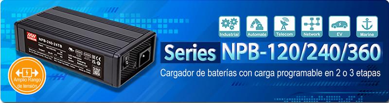 Cargador NPB de Electrónica OLFER.