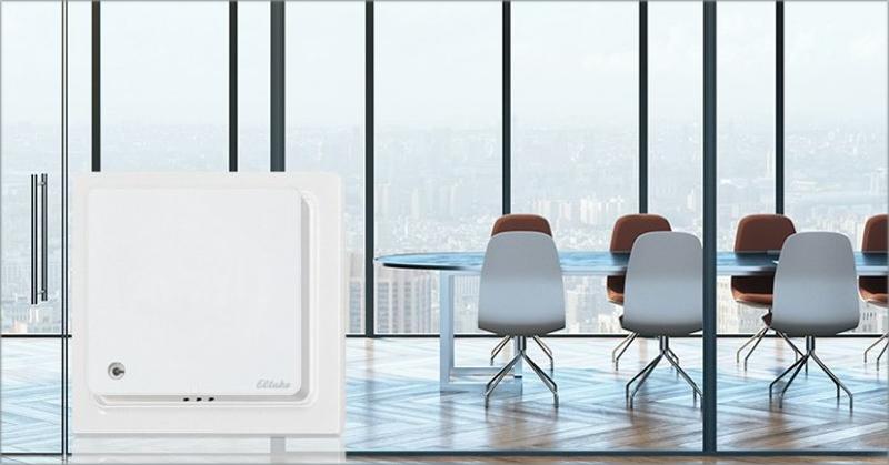 Eltako sensor co2, temperatura y humedad interior.