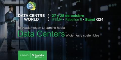 Schneider Electric abordará la transformación digital de centros de datos en la feria Data Centre World