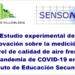Estudio experimental sobre la medición y control de la calidad del aire de SENSONET