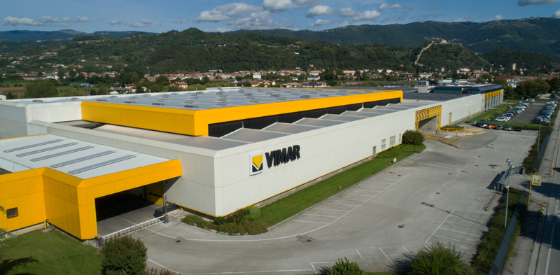 Fábrica de Vimar en Italia.